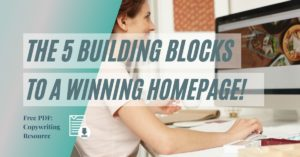 The 5 Building Blocks to a Winning Homepage